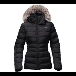 WOMEN'S GOTHAM JACKET II Black with Faux Fur Hood